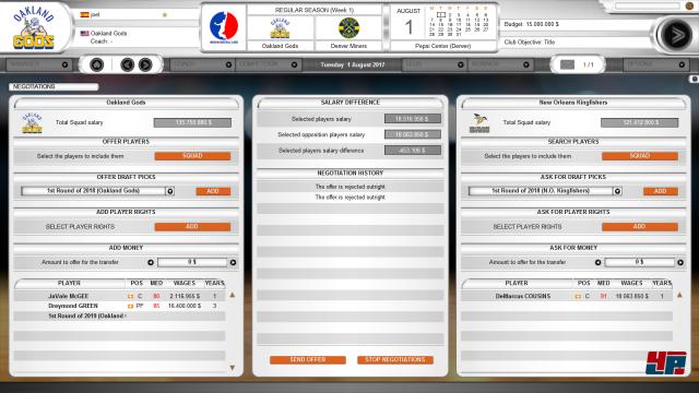 Screenshot - International Basketball Manager 2017-18 (PC)