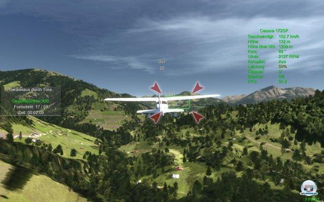 In Aufgaben wird mir spielerisch die Welt der Flugsimulation nähergebracht.