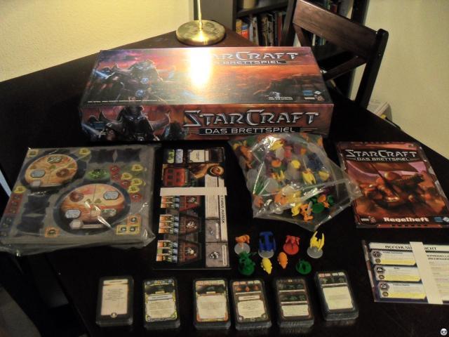StarCraft - Das Brettspiel: In der Box ist verdammt viel drin - alleine 180 Figuren für sechs Fraktionen.