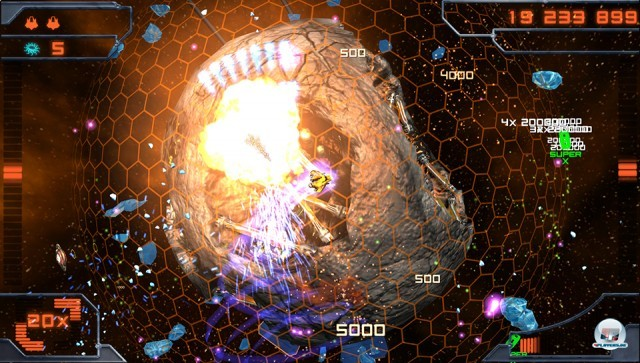Screenshot - Super Stardust Delta (NGP) 2227673