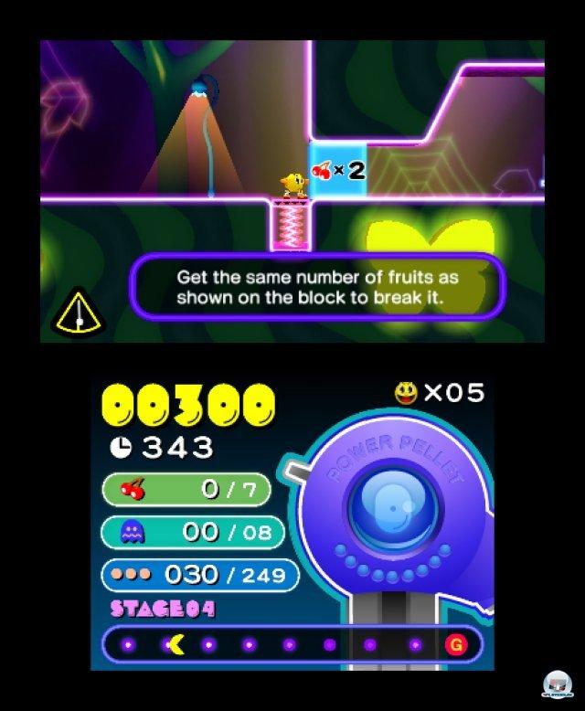 Screenshot - Pac-Man & Galaga Dimensions (3DS) 2257357