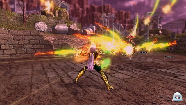 Screenshot - Saint Seiya: Sanctuary Battle (PlayStation3) 2265657