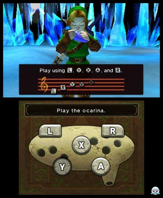 Screenshot - The Legend of Zelda: Ocarina of Time 3D (3DS) 2230664