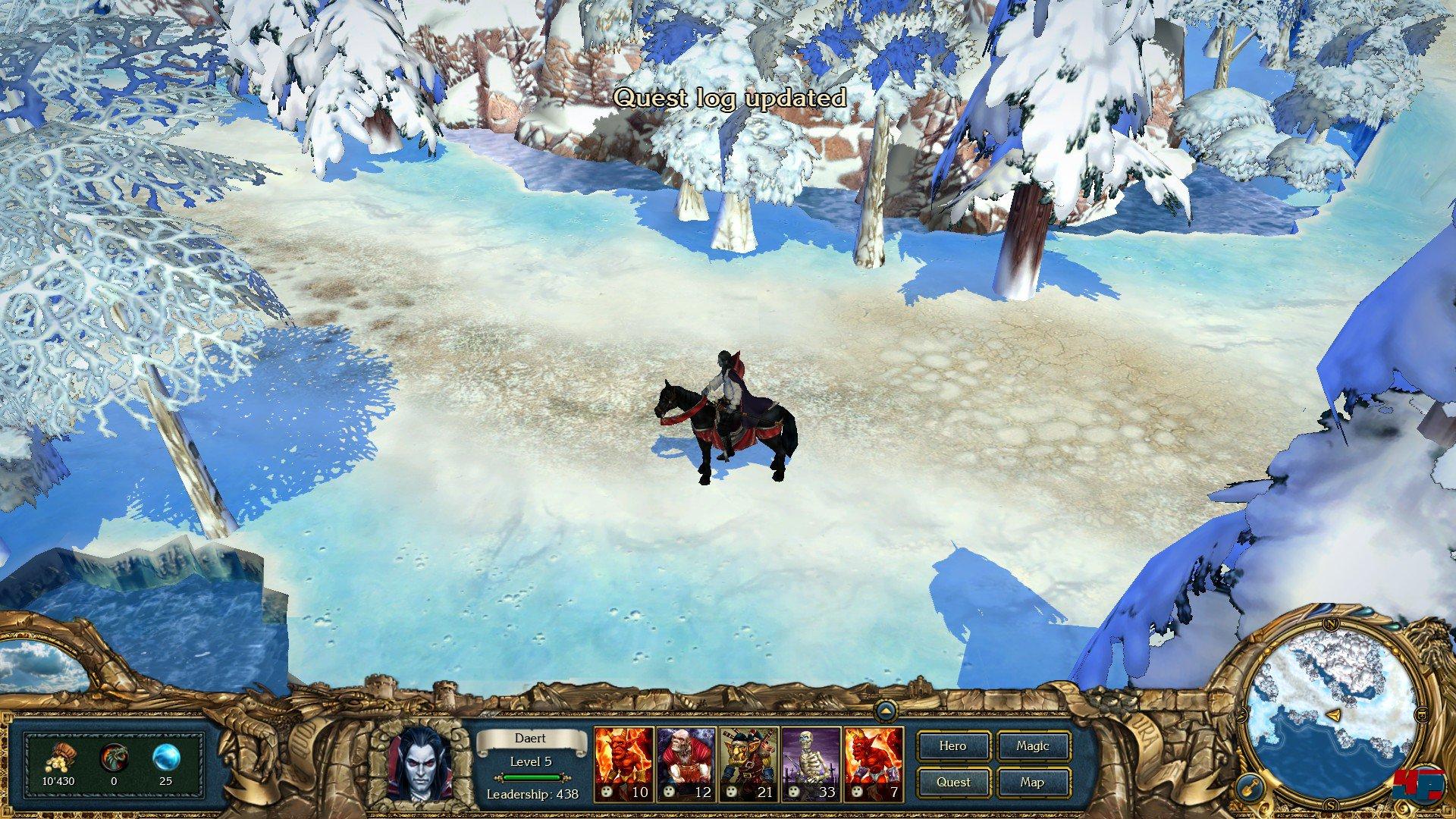 Screenshots zu King s Bounty Dark Side Alles zum Strategie Spiel
