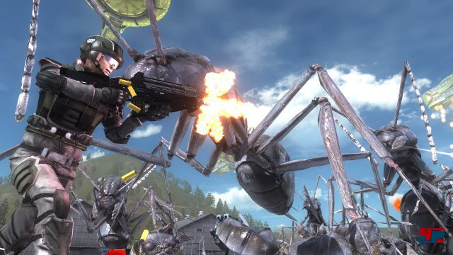 Screenshot - Earth Defense Force 5 (PS4)