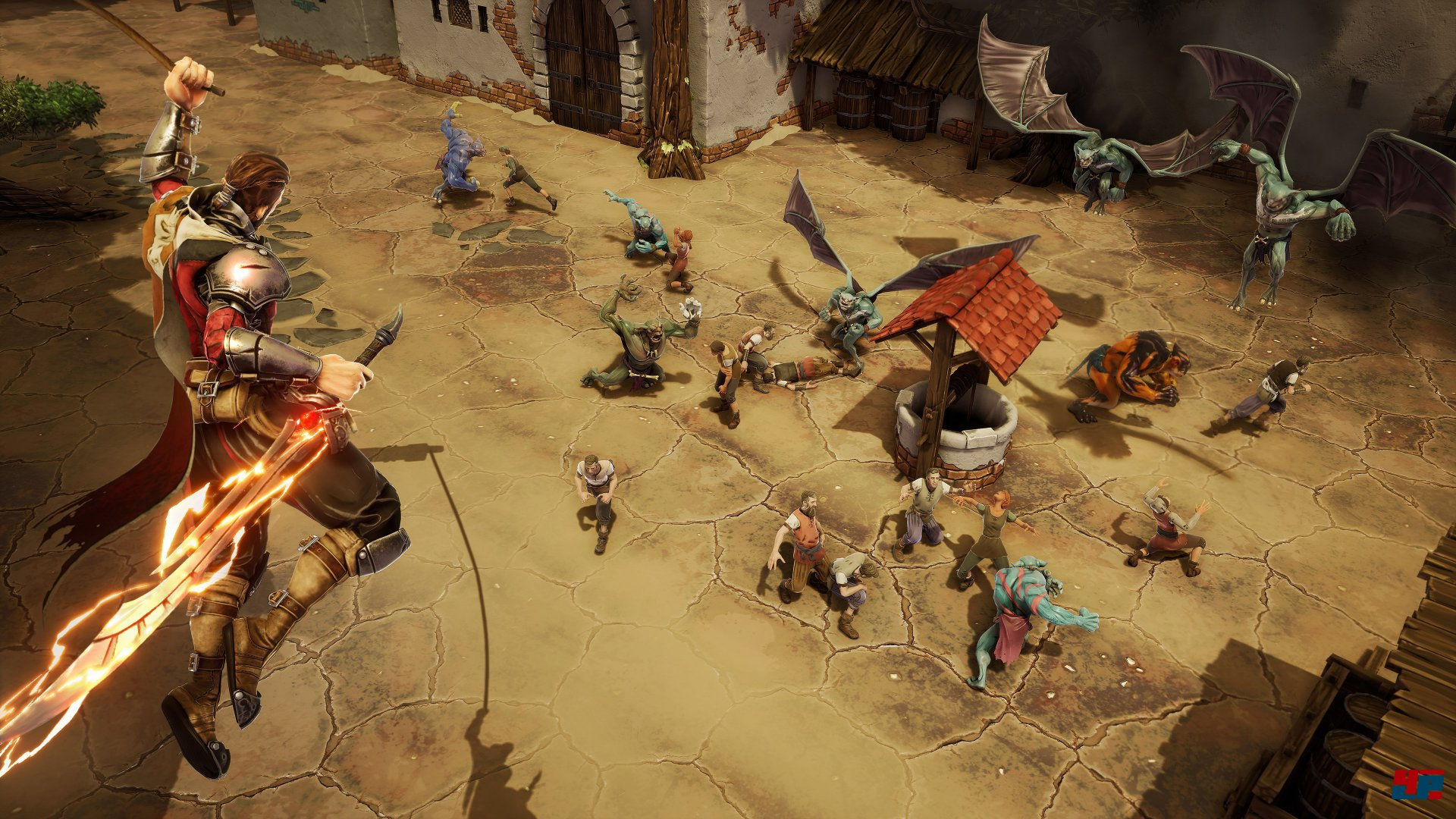 Extinction: Neues Actionspiel für PS4, Xbox One und PC von Iron Galaxy