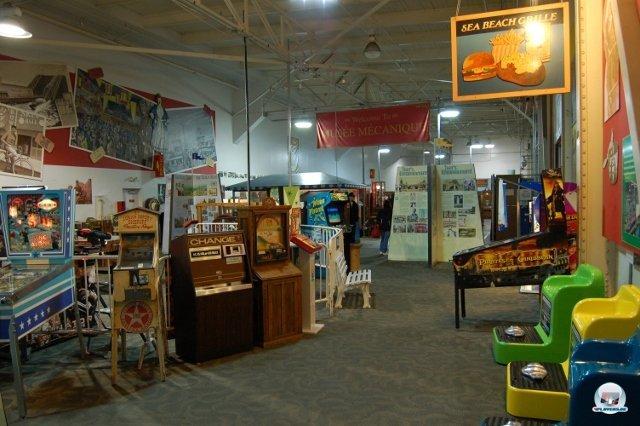 <b>Es rappelt, blitzt und klingelt</b> <br><br> Falls es euch nach San Francisco verschlägt, solltet ihr unbedingt einen Abstecher ins Musée Mécanique einplanen. In einer geräumigen Lagerhalle am Pier 45 wartet ein kleines Paradies für Fans alter Arcade-Maschinen. Und mit alt meinen wir richtig, richtig alt... 2334602