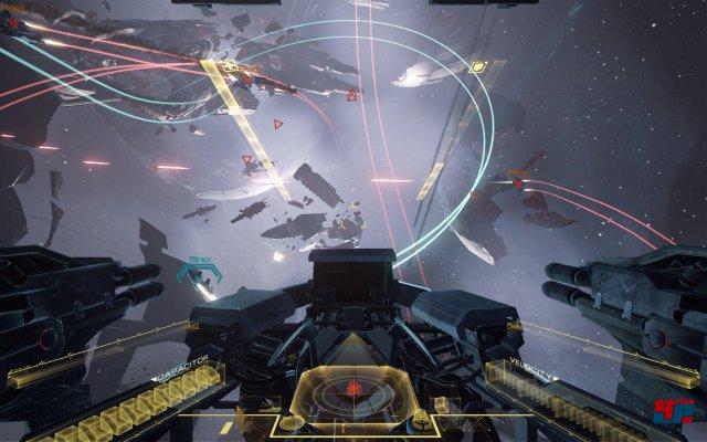 Eine neue Dimension des Videospiels: Besser als Eve: Valkyrie nutzt derzeit kein Spiel die Möglichkeiten der neuen Hardware.