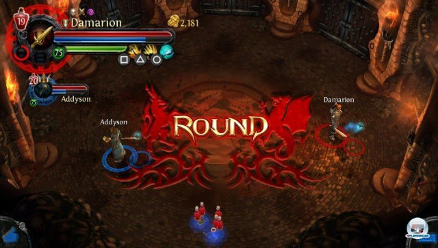 Screenshot - Dungeon Hunter: Alliance (PS_Vita)