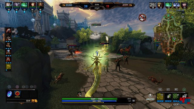 Screenshot - Smite (PlayStation4)