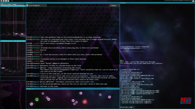 Screenshot - Hacknet (Linux)