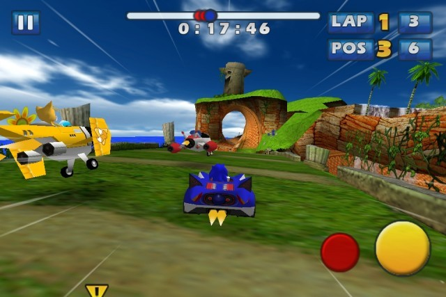 Screenshot - Sonic & Sega All-Stars Racing (iPhone)