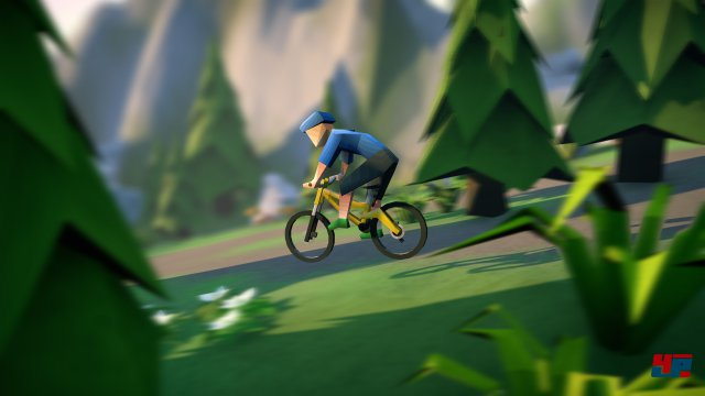Screenshot - Lonely Mountains: Downhill (Linux)