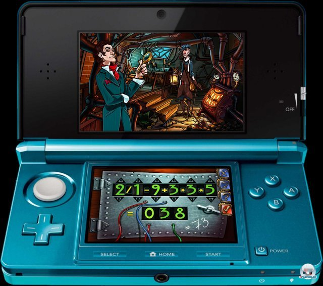 Screenshot - Sherlock Holmes and the Mystery of the Frozen City (3DS) 2373362