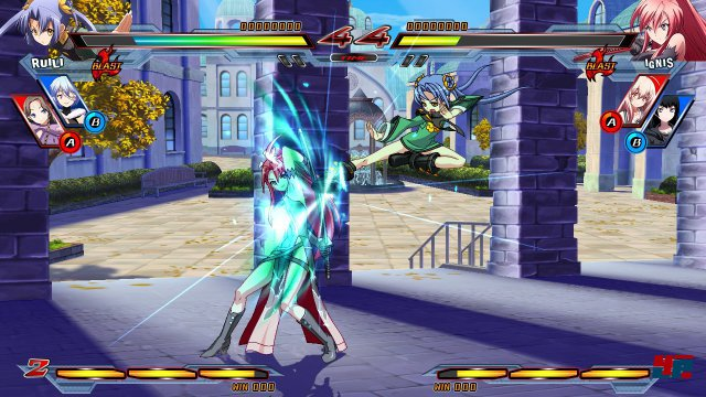 Screenshot - Nitroplus Blasterz: Heroines Infinite Duel  (PlayStation3)