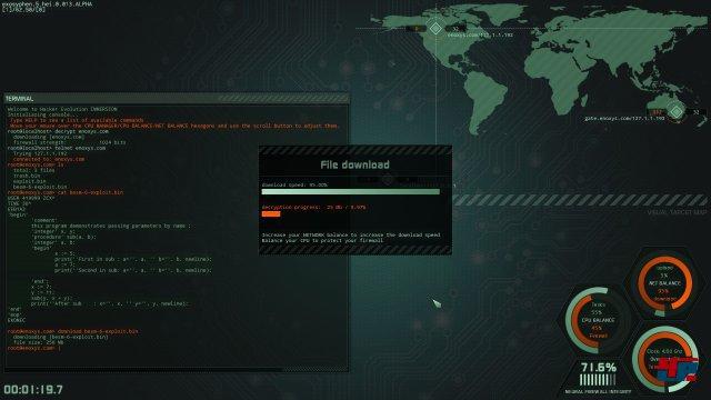 Screenshot - Hacker Evolution: Immersion (Linux) 92530905