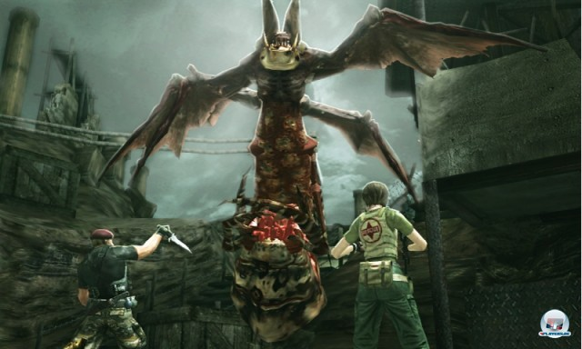 Screenshot - Resident Evil: The Mercenaries 3D (3DS) 2227494