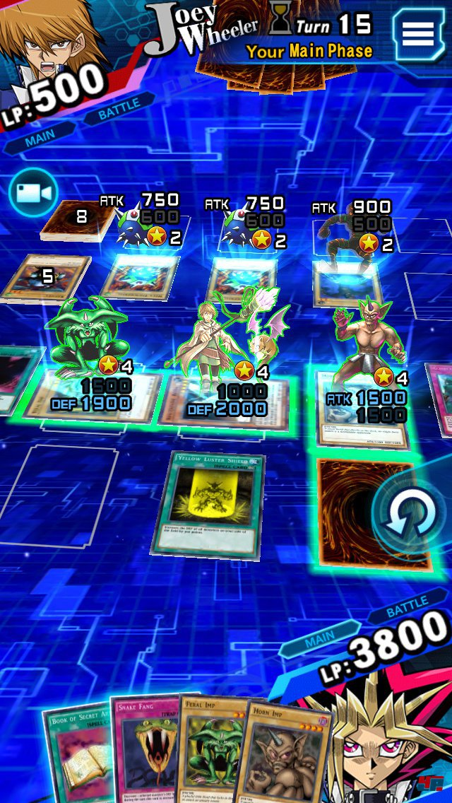 Screenshot - Yu-Gi-Oh! Duel Links (Android)