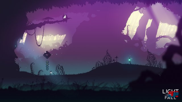 Screenshot - Light Fall (Linux)