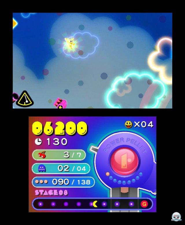 Screenshot - Pac-Man & Galaga Dimensions (3DS) 2257412