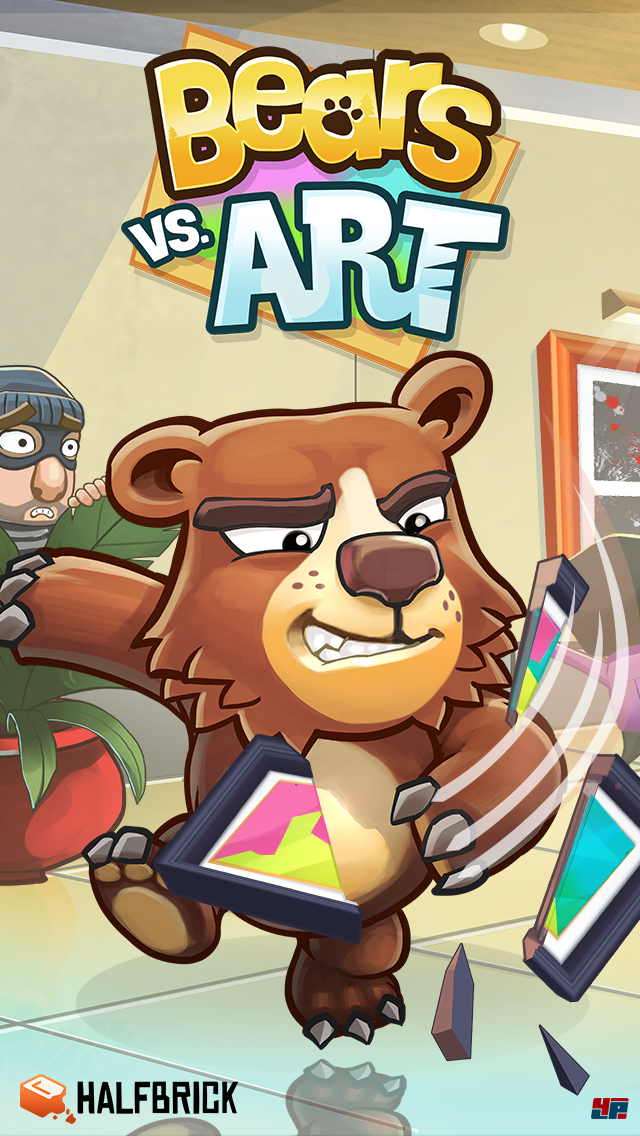 Screenshot - Bears vs. Art (Android)