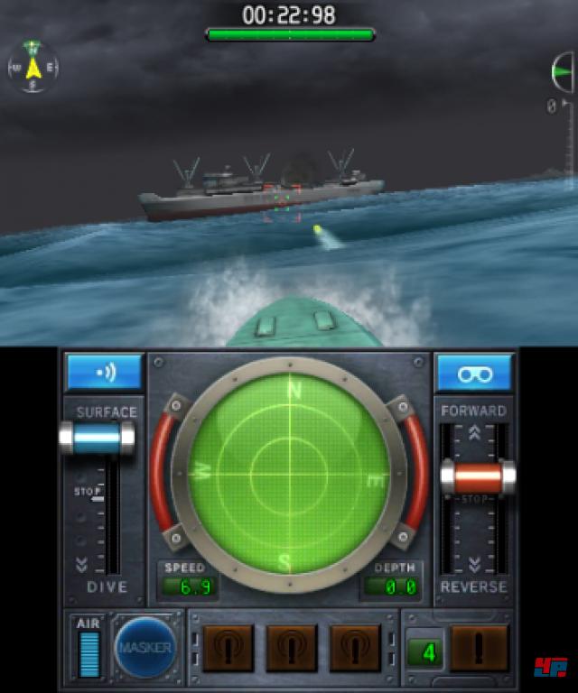Screenshot - Steel Diver: Sub Wars (3DS)