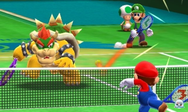 Screenshot - Mario Tennis 3D (3DS) 2266552