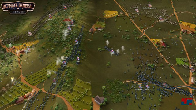 Screenshot - Ultimate General: Gettysburg (iPad)