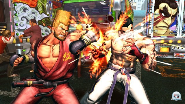 Der Comic-Grafikstil aus Street Fighter 4 wird hier nochmals verbessert - das Ergebnis ist schlicht der Hammer!