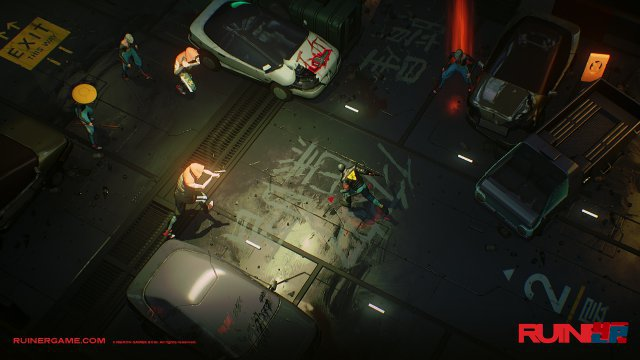 Screenshot - Ruiner (Linux)