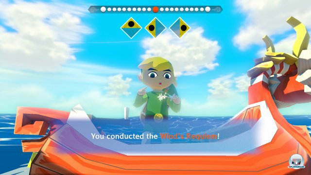 Screenshot - The Legend of Zelda: The Wind Waker (Wii_U)