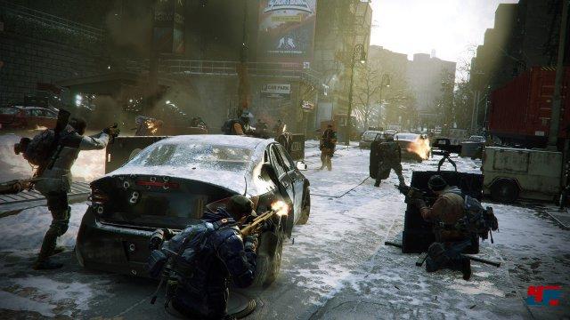 Der Screenshot täuscht: Das Spiel sieht in Bewegung weder so knackscharf aus noch ist die Action so taktisch geprägt wie es scheint.