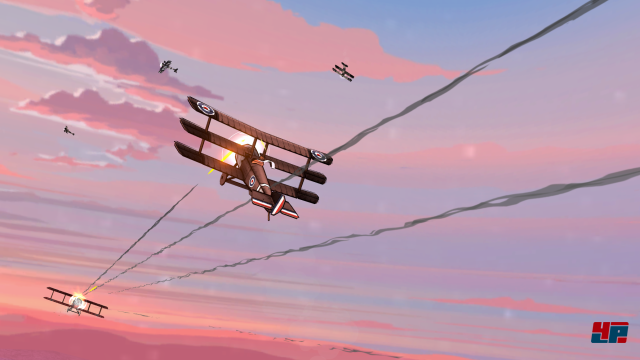 Screenshot - Skies of Fury DX (Switch)