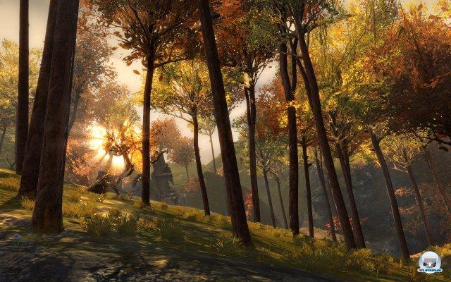Die Umgebungen sind gleicherma�en stimmungsvoll wie malerisch.