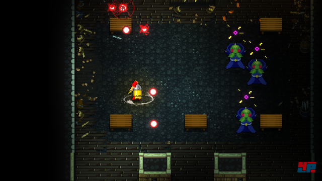 Screenshot - Enter the Gungeon (Linux)