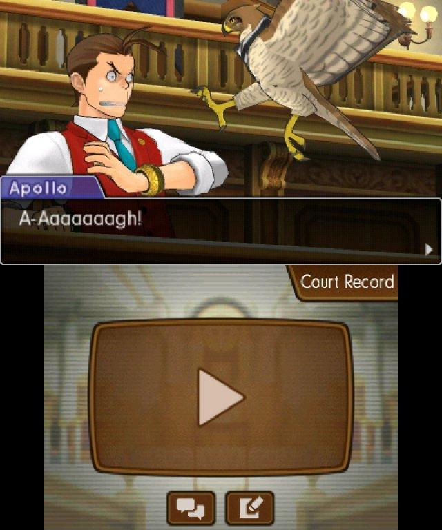 Im Anime-Gerichtssaal sind auch unorthodoxe Methoden wie der Einsatz tierischer Begleiter erlaubt.