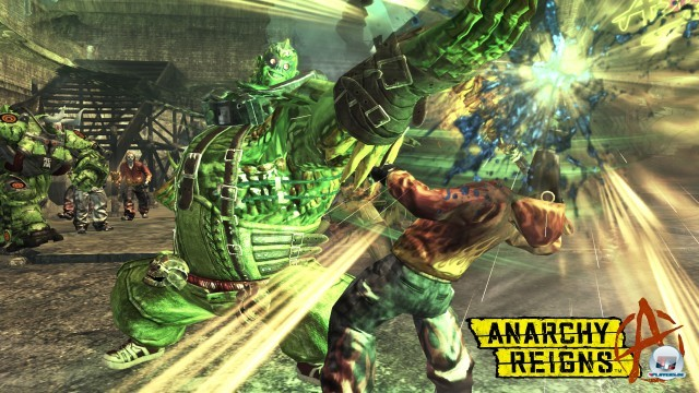 Screenshot - Anarchy Reigns (PlayStation3) 2243543