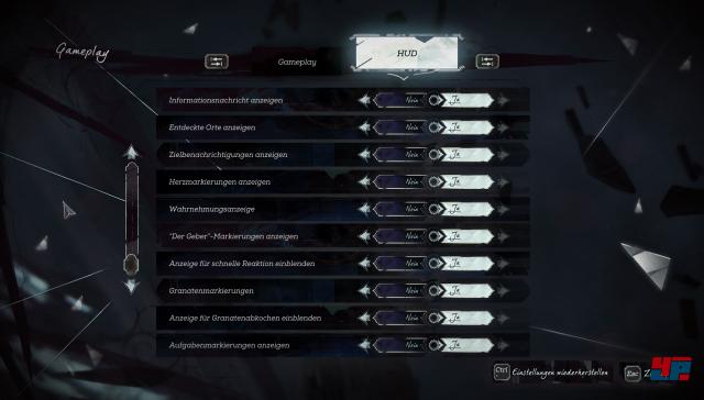 Man kann auch auf dem PC zig Optionen aktivieren.