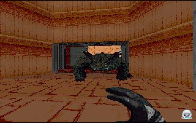 In Jabbas Palast muss man sich u.a. gegen einen bissigen Kell-Drachen zur Wehr setzen - mit bloßen Händen...