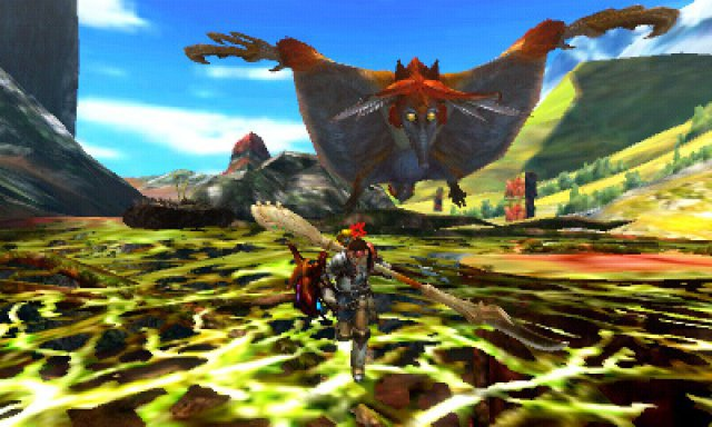 Screenshot - Monster Hunter 4 Ultimate (3DS)