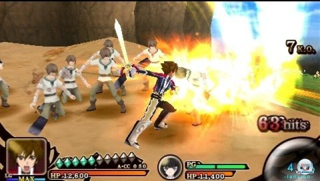Screenshot - Tales of the Heroes: Twin Brave (PSP) 2295517