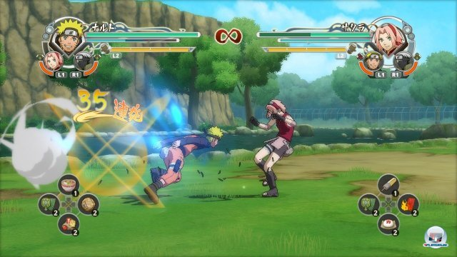 Screenshot - Naruto Shippuden: Ultimate Ninja Storm Generations (PlayStation3) 2295817