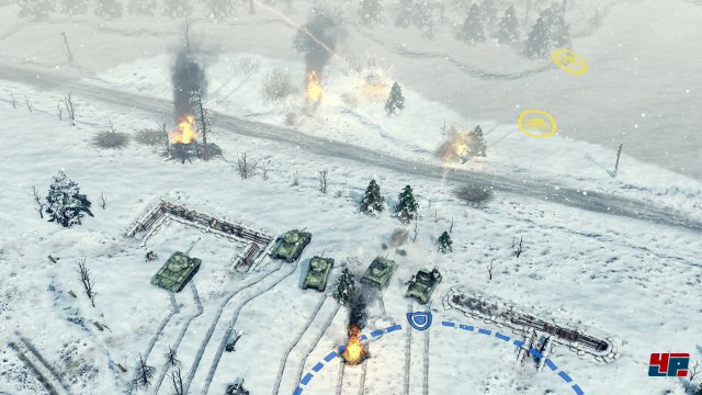 Screenshot - Sudden Strike 4 (Linux)