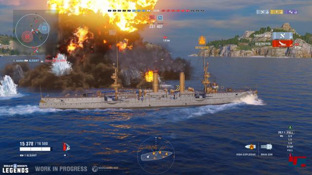 Screenshot - World of Warships (PS4) 92572399