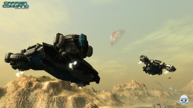 Screenshot - Carrier Command: Gaea Mission (PC) 2232313