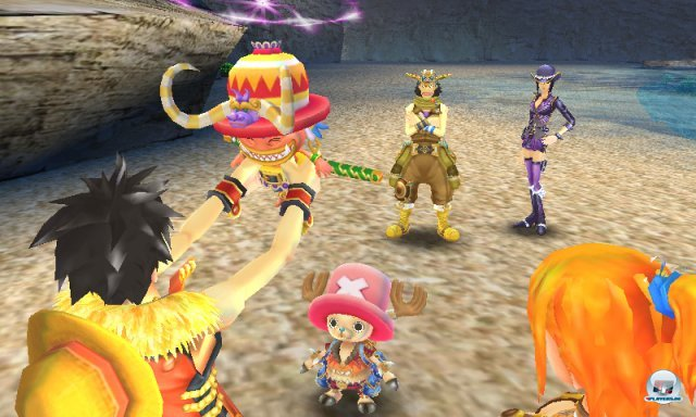 Screenshot - One Piece: Unlimited Cruise SP (3DS) 2259437