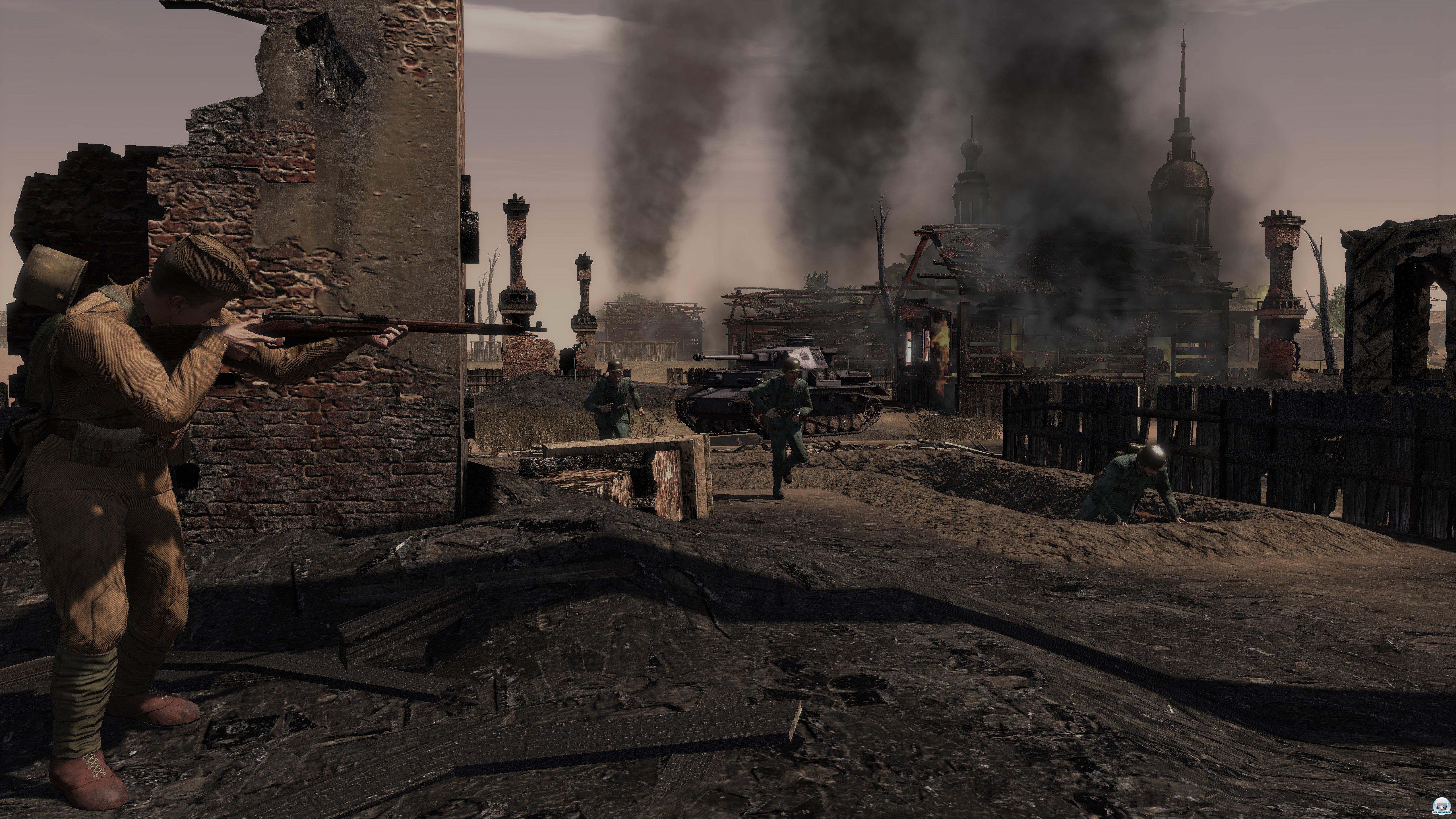 Vorsicht, Scharfschützen: Auf weitläufigen Maps ist es gar nicht so einfach, sich an die feindlichen Stützpunkte heranzukämpfen.