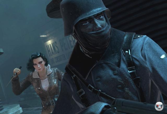 Und einen weiblichen Kumpel hat er mittlerweile auch: Violette, die Heldin des interessanten Weltkriegsschleichers Velvet Assassin.