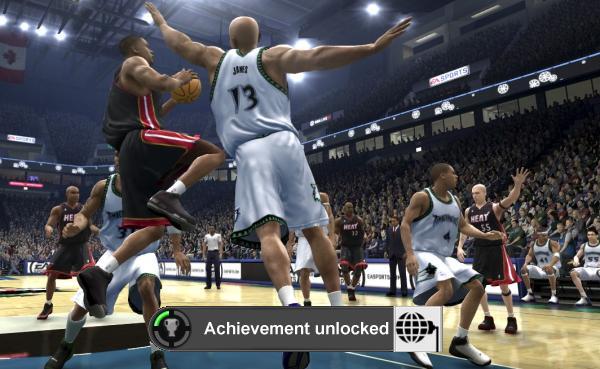 NBA Live 07<br><br>Die meisten Spieler werden in diesem Game genau 900 Punkte haben, und keinen einzigen mehr. Der Grund dafür nennt sich »Online with 1.000 People« und ist selbsterklärend: Die 100 Punkte gibt's nur, wenn man zufällig zu einem Zeitpunkt im Spiel online geht, wenn 999 andere Zocker dieselbe Idee haben. Das scheint nicht so oft vorzukommen, weswegen das Gamerscore-Website Xbox360achievements.org vor einiger Zeit zu einem Gruppentreffen aufgerufen hat, woraufhin es Punkte regnete - und auch nur dann! 1721898