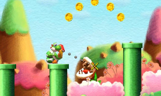 Screenshot - Yoshi's New Island (3DS)